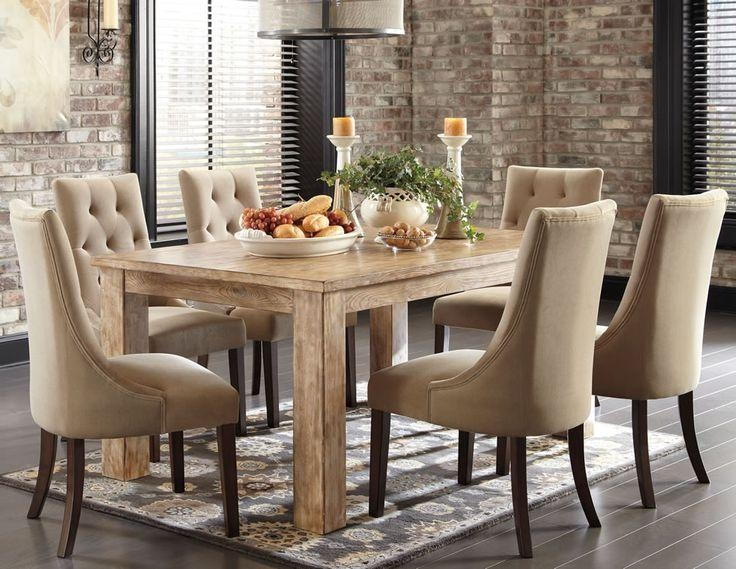 24 Best Best Fabric Dining Chairs Images On Pinterest | Fabric Regarding Most Current Fabric Covered Dining Chairs (View 10 of 20)