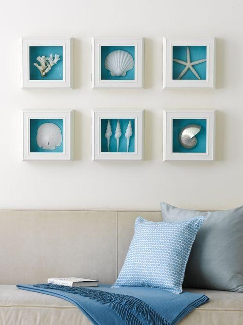 25+ Best Beach Wall Decor Ideas On Pinterest | Beach Bedroom Decor Inside Beach Themed Wall Art (Image 1 of 20)