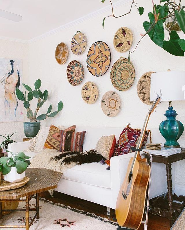 25+ Best Bohemian Wall Art Ideas On Pinterest | Cute Bedroom Ideas Regarding Boho Chic Wall Art (View 13 of 20)