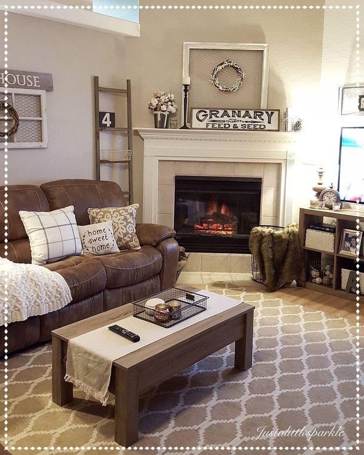 25+ Best Brown Couch Decor Ideas On Pinterest | Brown Sofa Decor In Brown Sofa Decors (Image 2 of 20)
