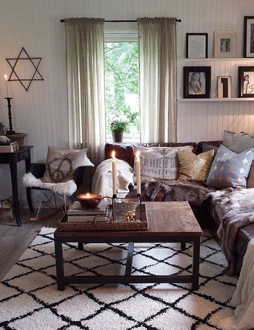 25+ Best Brown Couch Decor Ideas On Pinterest | Brown Sofa Decor In Brown Sofas Decorating (Image 1 of 20)
