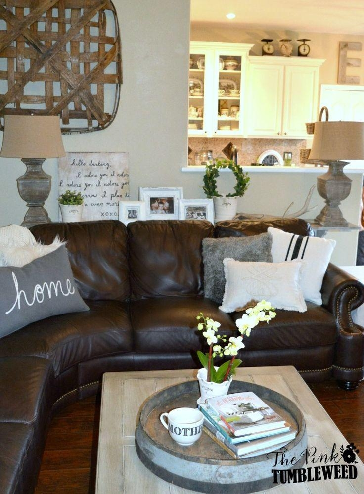 25+ Best Brown Couch Decor Ideas On Pinterest | Brown Sofa Decor Throughout Brown Sofas Decorating (View 16 of 20)