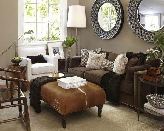 25+ Best Brown Couch Decor Ideas On Pinterest | Brown Sofa Decor With Regard To Living Room With Brown Sofas (Image 5 of 20)