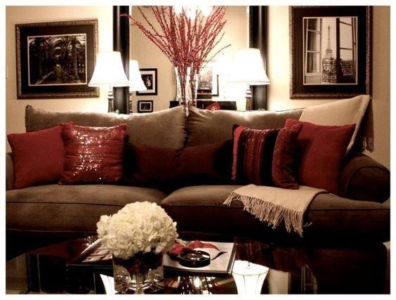 25+ Best Brown Couch Decor Ideas On Pinterest | Brown Sofa Decor Within Brown Sofa Decors (Image 5 of 20)
