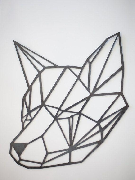 25+ Best Fox Head Ideas On Pinterest | Fox Face, Fox And Fox Drawing With Regard To Metal Animal Heads Wall Art (Image 1 of 20)