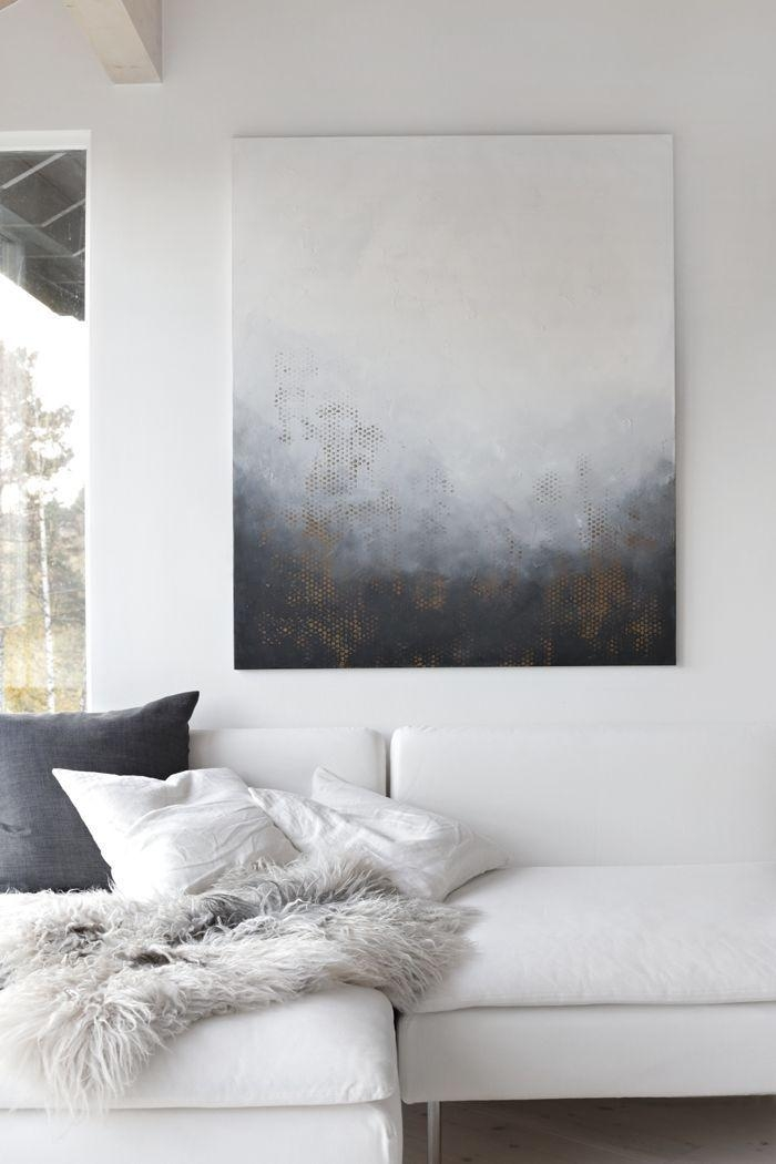 Featured Image of Gray And White Wall Art
