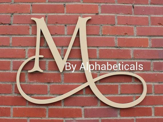 25+ Best Monogram Wall Decorations Ideas On Pinterest | Burlap For Monogram Metal Wall Art (Photo 10 of 20)