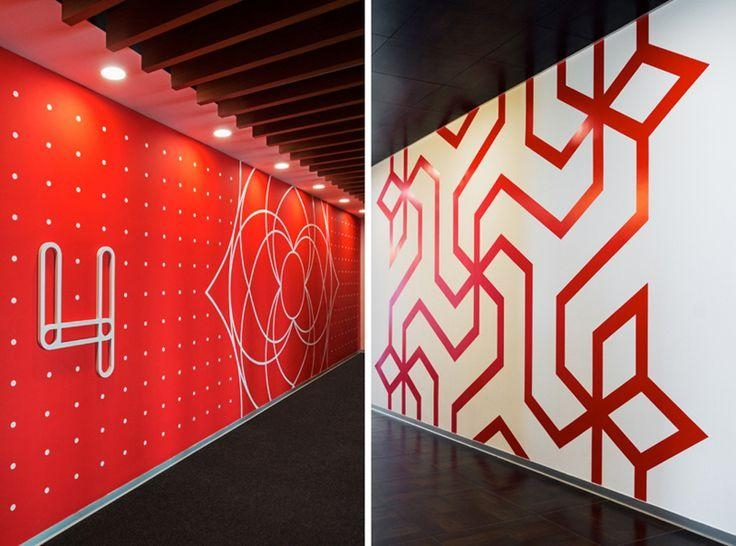 25+ Best Office Wall Graphics Ideas On Pinterest | Office Wall Pertaining To Graphic Design Wall Art (Image 1 of 20)