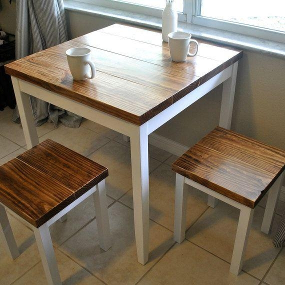 25+ Best Small Dining Table Set Ideas On Pinterest | Small Dining Regarding Small Dining Tables And Chairs (Image 1 of 20)