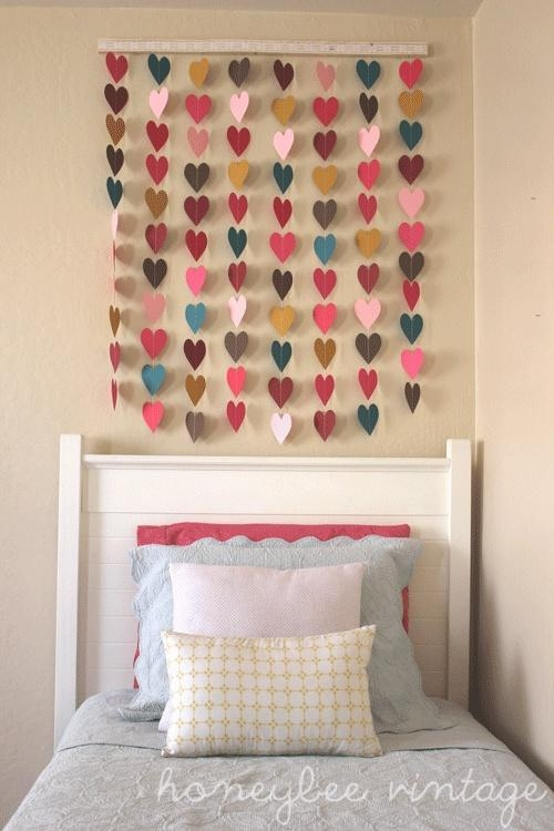 25 Teenage Girl Room Decor Ideas – A Little Craft In Your Day Intended For Wall Art For Teenage Girl Bedrooms (Photo 6 of 20)