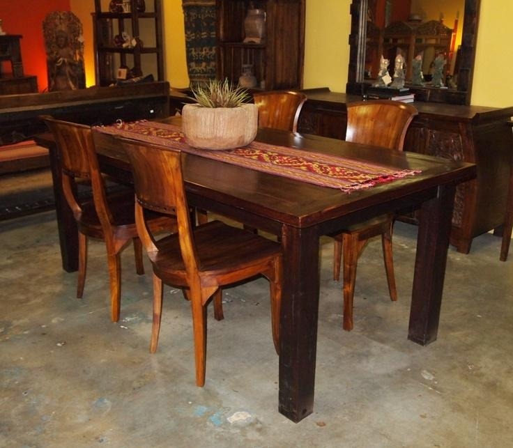 26 Best Indonesian Dining Table Images On Pinterest | Dining Regarding Most Popular Bali Dining Sets (Image 1 of 20)