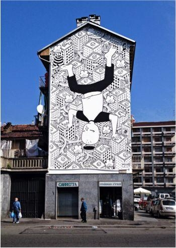 26 Best Italy: Piemonte Images On Pinterest | Urban Art, Street In Italian Cities Wall Art (Image 6 of 20)