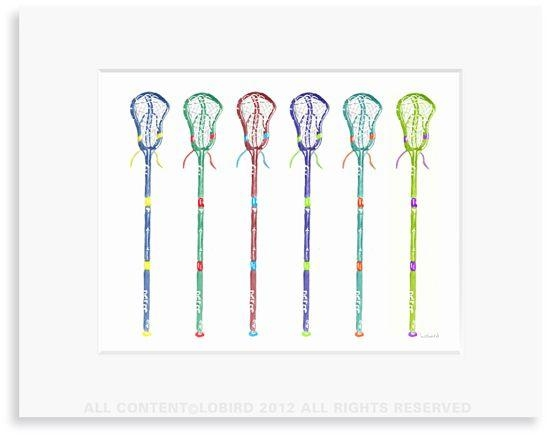 27 Best Lacrosse Style Images On Pinterest | Lacrosse Sticks With Lacrosse Wall Art (View 8 of 20)