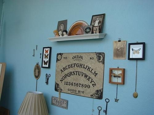 275 Best Spirit Boards Images On Pinterest | Ouija, The Dead And With Ouija Board Wall Art (Image 1 of 20)