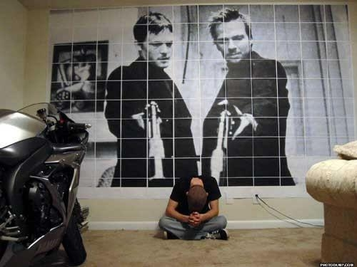29 Best The Boondock Saints Images On Pinterest | Norman Reedus With Boondock Saints Wall Art (Image 2 of 20)
