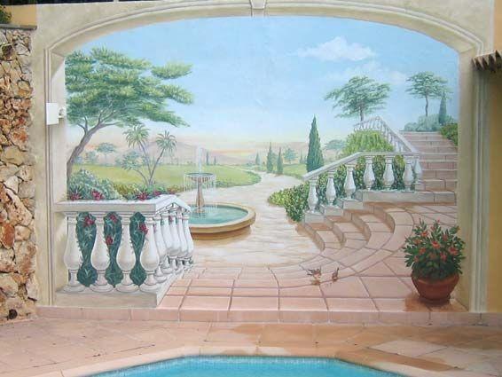 298 Best Mural Designs Images On Pinterest | Mural Ideas, Wall In Italian Art Wall Murals (Photo 13 of 20)