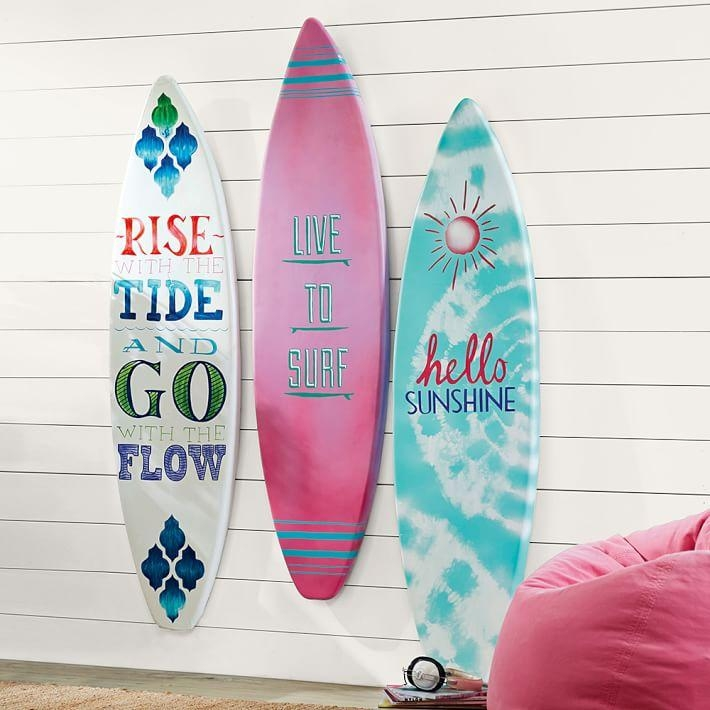 3 D Surfboard Art | Pbteen In Surf Board Wall Art (View 19 of 20)