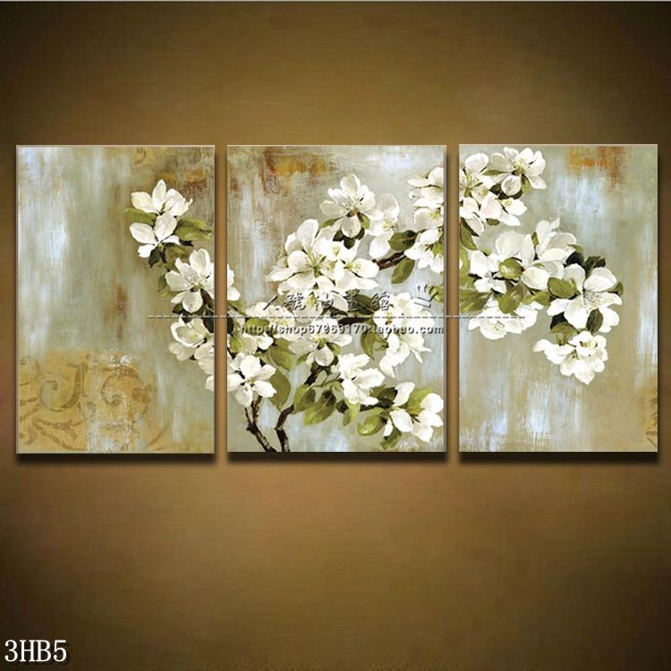3 Piece Floral Wall Art – Wall Murals Ideas Intended For 3 Piece Floral Wall Art (View 15 of 20)