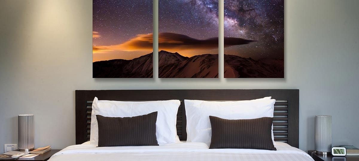 3 Piece Wall Art – Find Beautiful Canvas Art Prints In 3 Panels Intended For Three Piece Canvas Wall Art (Image 6 of 20)