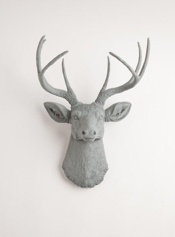 30 Best Animal Heads – Faux Images On Pinterest | Deer Heads Within Resin Animal Heads Wall Art (Photo 13 of 20)