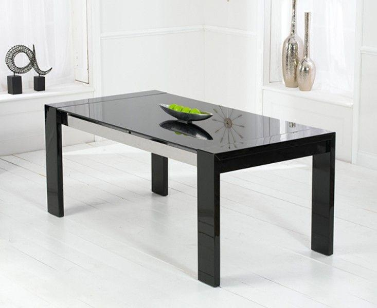 30 Best Contemporary Furniture Images On Pinterest | Contemporary Pertaining To Most Recently Released Black Gloss Dining Tables (Image 1 of 20)