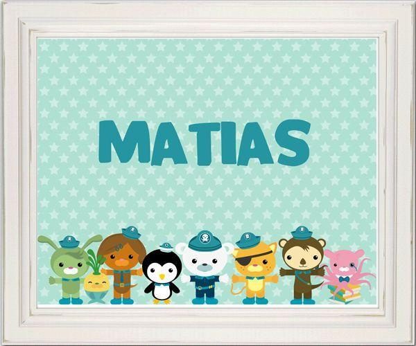 30 Best Mr M's Octonauts Bedroom Ideas Images On Pinterest Inside Octonauts Wall Art (Image 2 of 20)