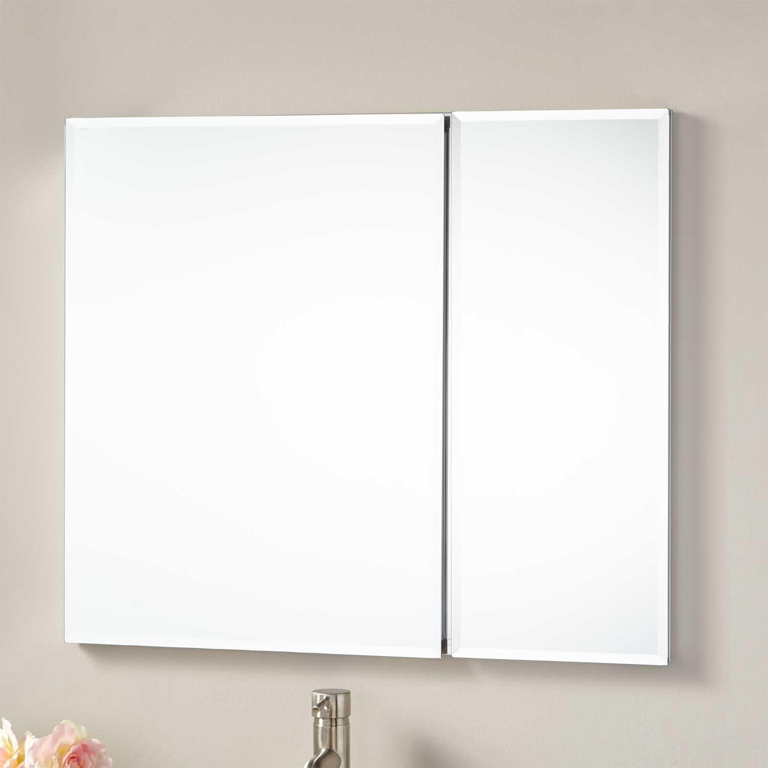 "30"" Cordain Recessed Mount Medicine Cabinet – Bathroom With Regard To Bathroom Medicine Cabinets And Mirrors (Photo 12 of 20)"