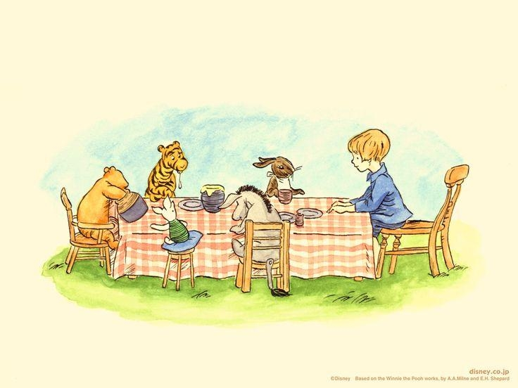 306 Best Winnie The Pooh Images On Pinterest | Pooh Bear, Piglets Pertaining To Classic Pooh Art (Image 5 of 20)