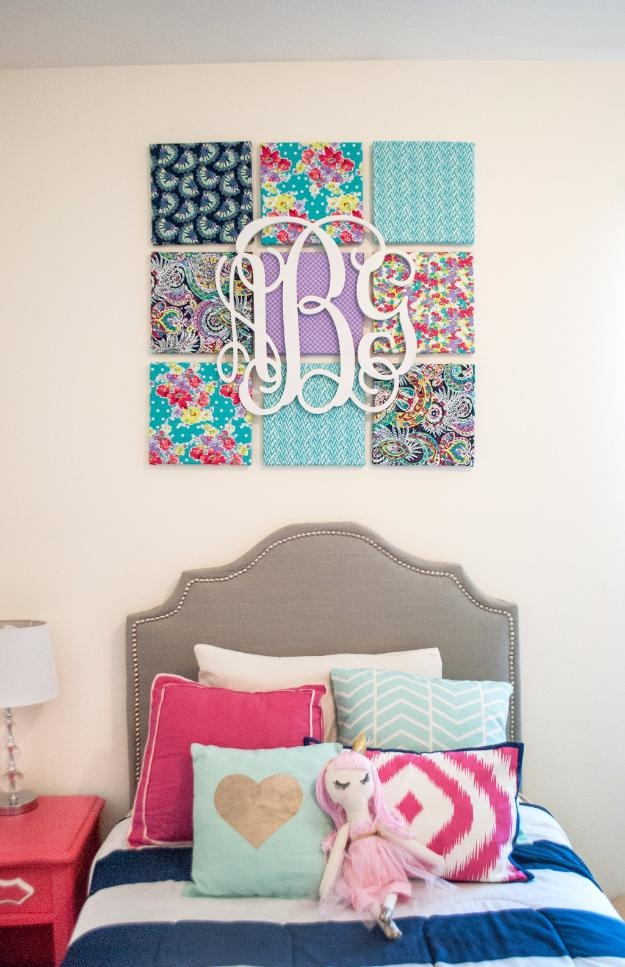 31 Teen Room Decor Ideas For Girls – Diy Projects For Teens Throughout Wall Art For Teenage Girl Bedrooms (Photo 1 of 20)