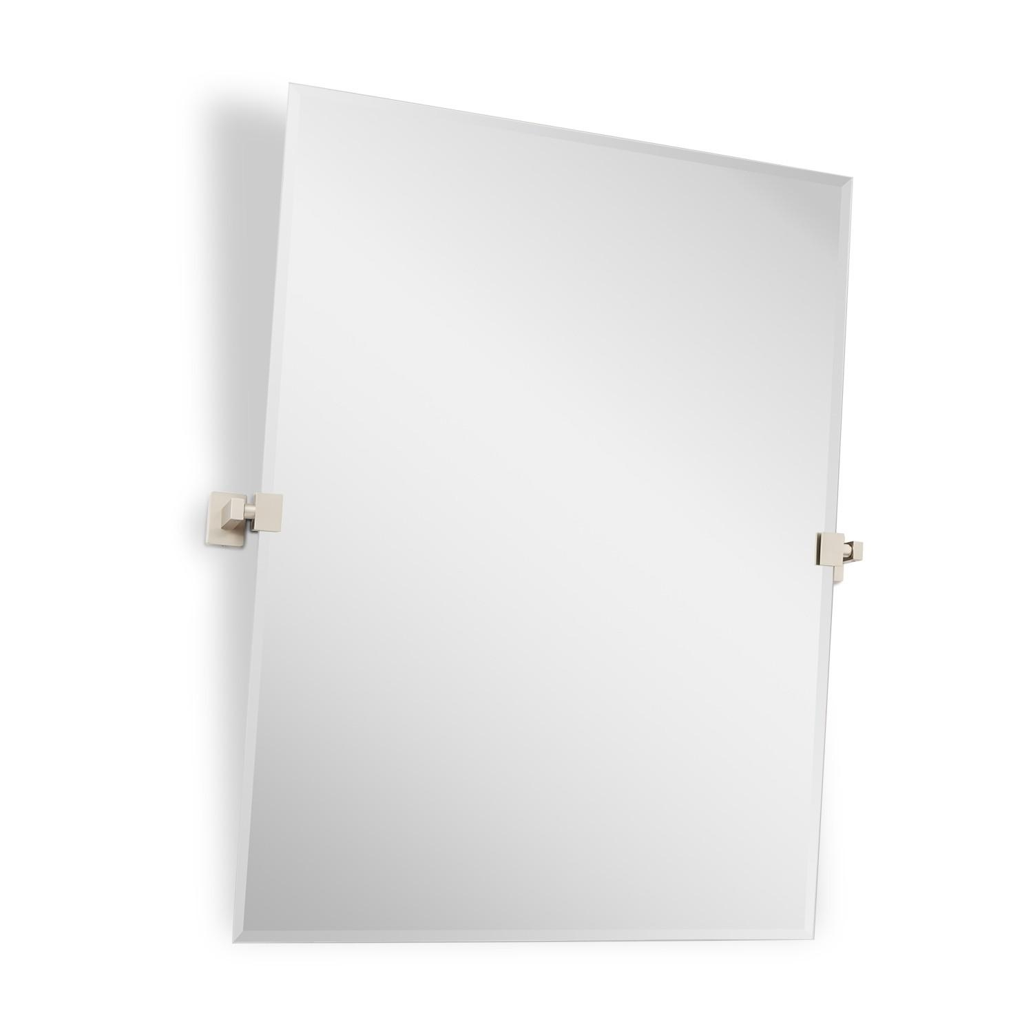 "32"" Helsinki Rectangular Tilting Mirror – Bathroom Throughout Pivot Mirrors For Bathroom (Image 1 of 20)"