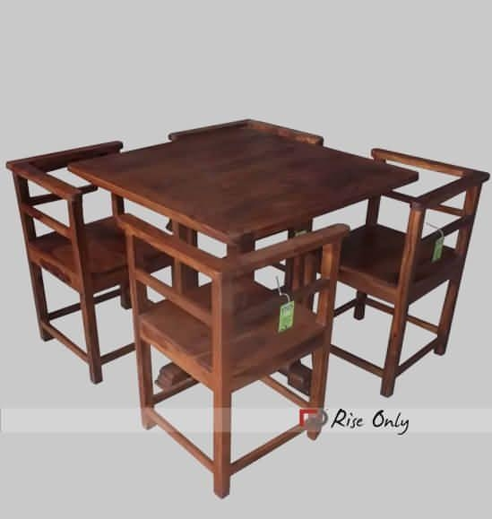 33 Best Indian Wooden Furniture Manufacturer Images On Pinterest Regarding Newest Sheesham Dining Tables And 4 Chairs (Image 1 of 20)