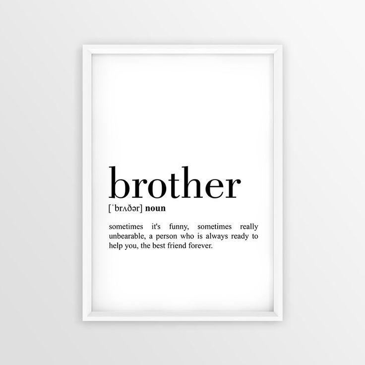 33 Best Plaques Images On Pinterest | Little Brothers, Pallet In Brother Definition Wall Art (View 9 of 20)
