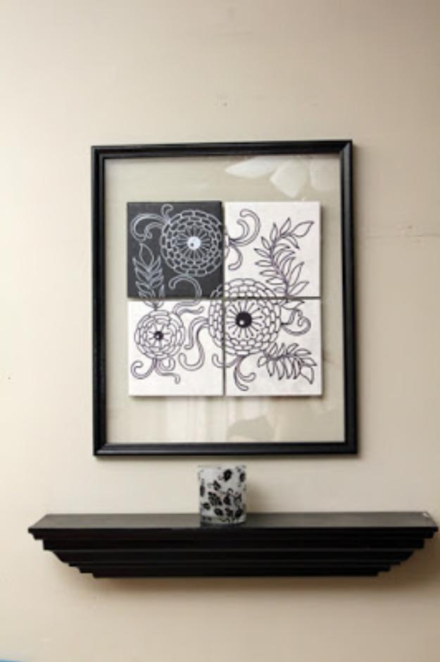 33 Cool Sharpie Crafts And Diy Project Ideas With Regard To Sharpie Wall Art (Image 4 of 20)