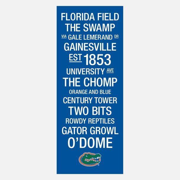 330 Best Florida Gators Images On Pinterest | Gator Football Regarding Florida Gator Wall Art (View 6 of 20)
