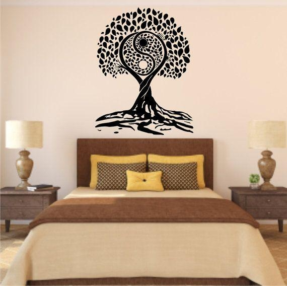 34 Best Vinyl Art For The Home Images On Pinterest | Vinyl Art Within Tree Of Life Wall Art Stickers (View 3 of 20)
