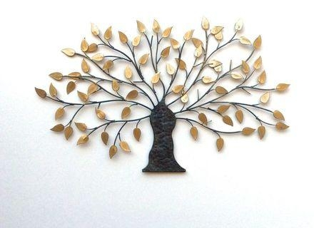 37 Bronze Metal Wall Art, Oak Tree Metal Wall Art Copper/bronze In Copper Oak Tree Wall Art (Image 9 of 20)