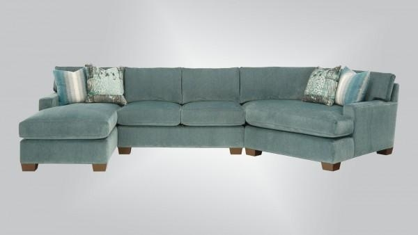 3800 – Alternatives Sectional – Burton James In Burton James Sectional Sofas (Image 7 of 20)