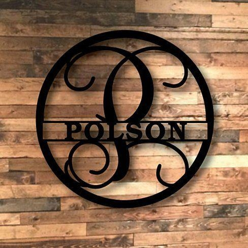 39 Best Laser Cut Metal Wall Art Images On Pinterest | Metal Walls Pertaining To Monogram Metal Wall Art (Image 4 of 20)