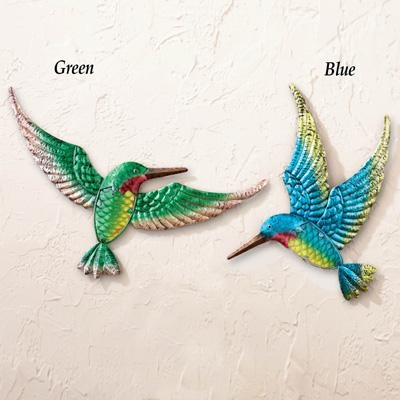 3D Hummingbird Metal Wall Art From Collections Etc (Image 2 of 20)