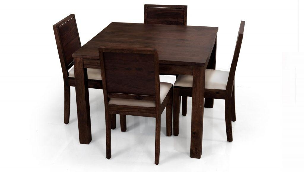 4 Chair Dining Table Set – Insurserviceonline For Recent Small 4 Seater Dining Tables (Image 2 of 20)