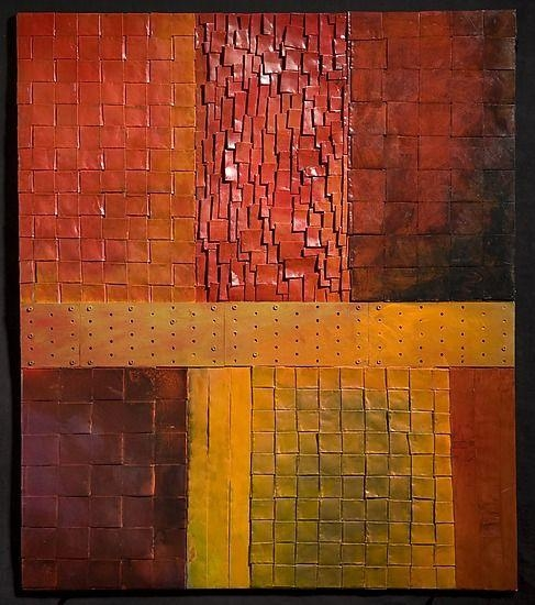41 Best Woven Copper Images On Pinterest | Metal Walls, Metal Wall With Woven Metal Wall Art (Image 4 of 20)