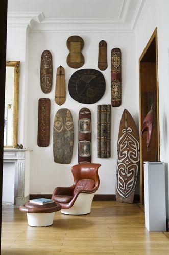 42 Best African Masks Livings Images On Pinterest | African Masks Inside Wooden Tribal Mask Wall Art (Image 4 of 20)