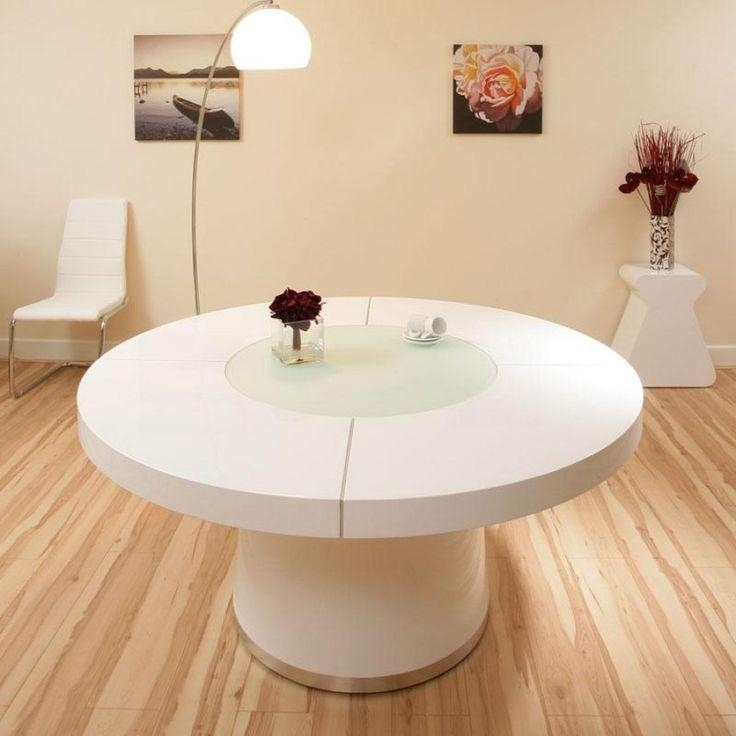 42 Best Unique Dining Tables Images On Pinterest | Unique Dining Regarding Most Recent White Round Extendable Dining Tables (Image 1 of 20)
