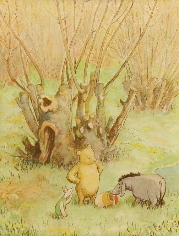 44 Best Classic Pooh Images On Pinterest | Pooh Bear, Piglets And Throughout Classic Pooh Art (Image 6 of 20)