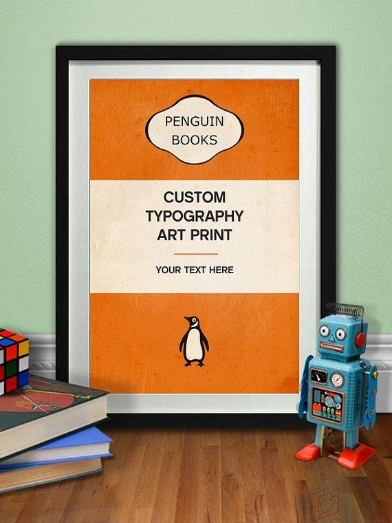 44 Best Penguin Books Images On Pinterest | Penguin Books, Penguin With Regard To Penguin Books Wall Art (Image 5 of 20)