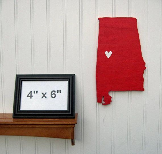 "44 Best Sports ""state Heart"" Collection Images On Pinterest Within Auburn Wall Art (Image 5 of 20)"