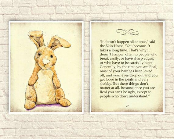 45 Best Pooh Wall Art Images On Pinterest | Cellos, Vintage Baby For Velveteen Rabbit Wall Art (Image 2 of 20)