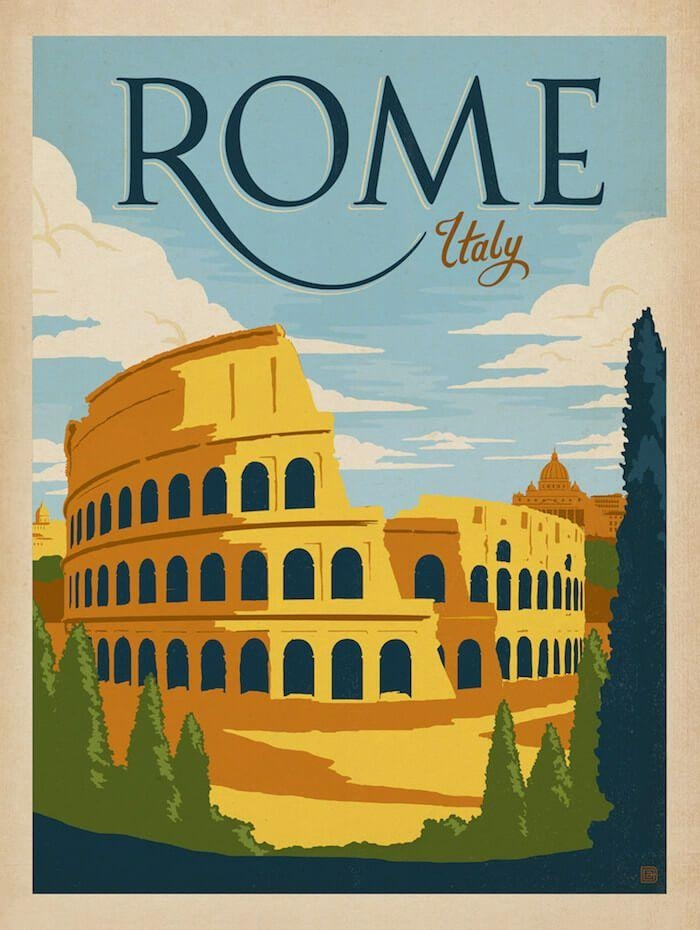 4623 Best Travel Posters Images On Pinterest | Vintage Travel For Italian Overlook Framed Wall Art Sets (Photo 18 of 20)