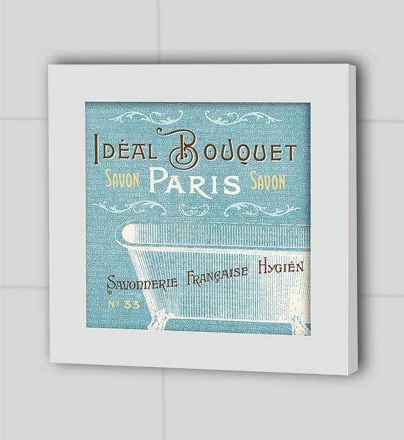 47 Best Ideas For Bathroom Images On Pinterest | Kid Bathrooms With French Bathroom Wall Art (View 3 of 20)