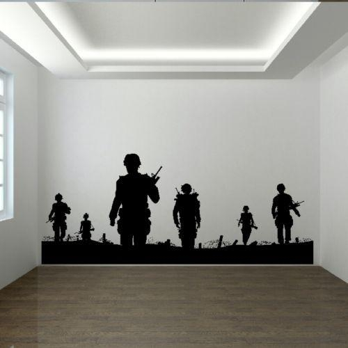 47 Best Wall Images On Pinterest | Army Men, Wall Stickers And For Wall Art For Guys (Image 1 of 20)